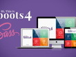Change PSD to responsive HTML with bootstrap 4 and Sass