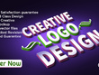 Design a creative logo with unlimited revision
