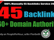 Limited Time- 45 Backlinks from High DA-60+ Domains-Skyrocket