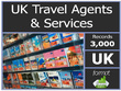Send you 3000 plus UK TRAVEL AGENTS Contact/Email list