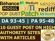 10 X High Authority Guest Post [DA 93-45] Not PBN,From Real Site