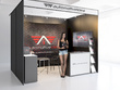 Perfect design exhibition stand, pop-up/roll-up banner,equipment