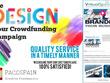Design you a stunning fundraiser/crowdfunding page + Bonus