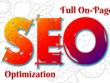 Do complete On Page Optimization Of Your Website