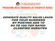 Advertise Your Business 50 Ad Posting Boost Sales
