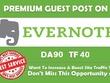Publish Your High DA90 Unique Evernote.com Guest Post
