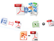 Type up to 150 pages of PDF files or scanned documents or books