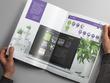 Design a professional 10 page company brochure