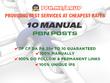 10 Manual Pbn Post On High Tf Cf Da Pa 25 Dofollow Backlinks