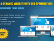 Build a dynamic website with SEO