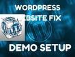 Wordpress customization and Fix Wordpress Site
