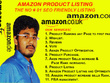 Write SEO friendly Amazon Product Listing