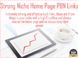 10 High TF, Niche Relevant and Permanent Home Page PBN Links