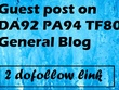 Guest post on DA92 PA94 TF80 General Blog 2 dofollow link