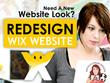 Design your Wix website