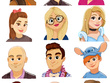 Create a cartoon avatar for your social media!