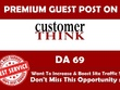 Premium  Guest Post on Customerthink.com  DA- 69 Dofollow link