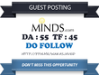 Publish guest post on Minds.com DA 55, TF 45 Dofollow