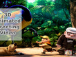 Create your animated 3D greeting video