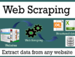 Deliver web data scraping and data mining services