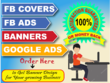 Design Eye Catchy Facebook Ads,Banners & web Covers