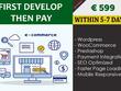 Design ecommerce website with woocommerce or prestashop