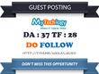 Publish a guest post on MyTechlogy.com DA 37 Dofollow