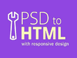 Convert PSD to HTML / HTML 5 / CSS3