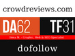 Guest post on CrowdReviews.com DA62, PA68, TF31