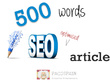 Create quality, SEO driven web content (500 words)