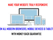 Make your website fully responsive