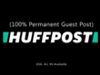 Publish A Guest Post On Huffington Post (DA:97 PA:83)