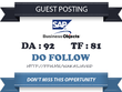 Publish Do Follow Guest Post on blogs.sap.com DA 92 TF 81