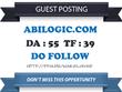 Write & Publish guest post on Abilogic.com DA 55 Dofollow