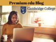 Publish a guest post on Cambridge College blog (DA53, PA 61)