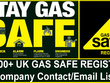 Send you 15000 UK GAS SAFE Register Company contact/email list