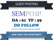 Publish Do Follow Guest Post On SEMpo - SEMpo.org DA 61