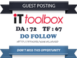 Publish Do Follow Guest Post on it.toolbox.com DA 72 TF 67
