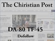 Write and guest post On Christianpost Da81 Tf45 Dofollow