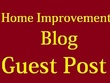 Guest post on 6 TOP quality Home Improvement websites