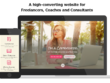 Build a freelancer website to impress clients & launch your biz