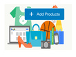 Add 100 products to your website/store