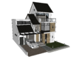 Make a detailed 3D model of your house in Sketchup