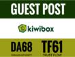 Publish a guest Post On KiwiBox DA74 Dofollow links