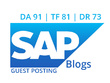 Publish Dofollow Guest Post on blogs.sap.com News (DA92)