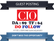 Write a guest post on CIO.com (DA 89) Tech Backlink