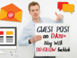 Guest Blogging on DA20+ Blogs with Do-Follow Backlink
