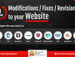 1 Hour Modifications / Fixes / Revisions in your Website