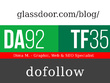 Publish a post on glassdoor.com/blog/- DA92, TF35