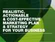 Write a marketing plan & strategy for your business